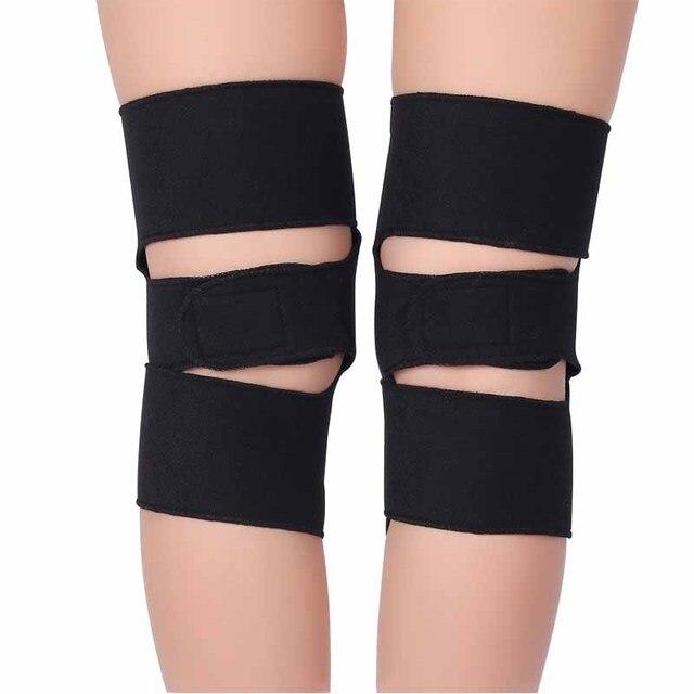 1 Pair BYEPAIN Tourmaline Self -heating Kneepad Magnetic Therapy Knee Support Tourmaline Knee Brace Belt Knee Massager 5