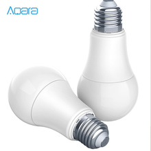 Aqara Lámpara de Bombilla LED inteligente, 9W, E27, 2700K 6500K, 806lum, Color blanco, funciona con Kits de hogar, MIhome APP H30