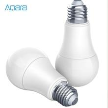 Original Aqara 9W E27 2700K 6500K 806lum สมาร์ทสีขาวหลอดไฟ LED โคมไฟกับบ้านชุด/MIhome APP H30