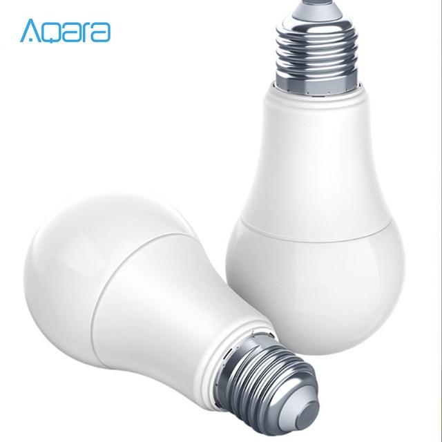 Original Aqara 9W E27 2700K 6500K 806lum Smart White Color LED Bulb Light Lamp Work with Home Kits / MIhome APP H30