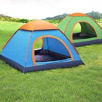 Outdoor Camping Tent 1 2 3 4 Person Automatic Pop Up Tent Family Waterproof Ultralight Easy Open Camp Hiking Tents Sun Shade