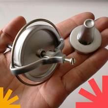 Métal gyroscope mécanique physique accessoires d'enseignement anti-gravité phénomène d'expliquer gyroscope gyroscope jouets