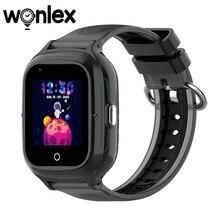 Wonlex kt23 smart-relógios anti-perdido gps-rastreador sos-monitor 4g crianças ip67 impermeável telefone bebê chamada de vídeo relógio da câmera