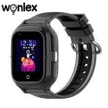 Wonlexスマート腕時計抗失われたgpsのトラッカーsos モニター4グラム子供IP67防水KT23電話赤ちゃんビデオ通話カメラ時計