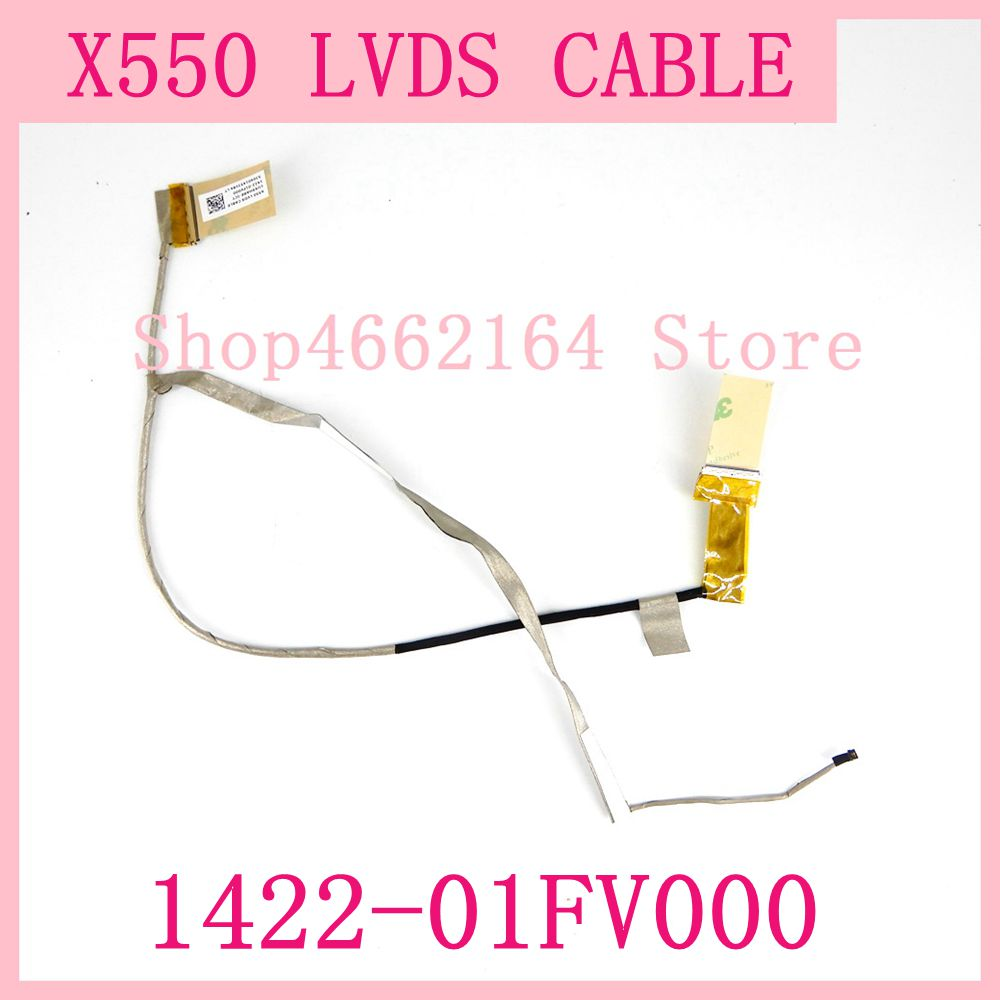 For ASUS X550 X550L X550LA X550VA X550VB X550VC X550LB X550LC R510C A550 LVDS CABLE 1422-01FV000 Laptop Screen LVDS VIDEO Flex