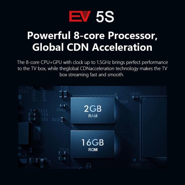 [Genuine]2021 ev pad 5p 5s pro evpad evbox 5p 5S android 10.0 6k 4+32G EVAI control for Korea Japan SG AU Canada Thai Ph europe 4