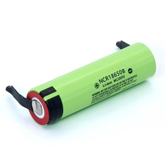 2019 New Original NCR18650B 3.7 v 3400mah 18650 Lithium Rechargeable Battery Welding Nickel Sheet batteries 1