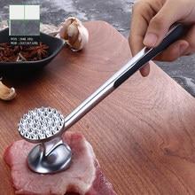 1 pçs profissão martelo de carne portátil solto martelo de carne com alça de carne agulha amaciador cozinha ferramentas carne
