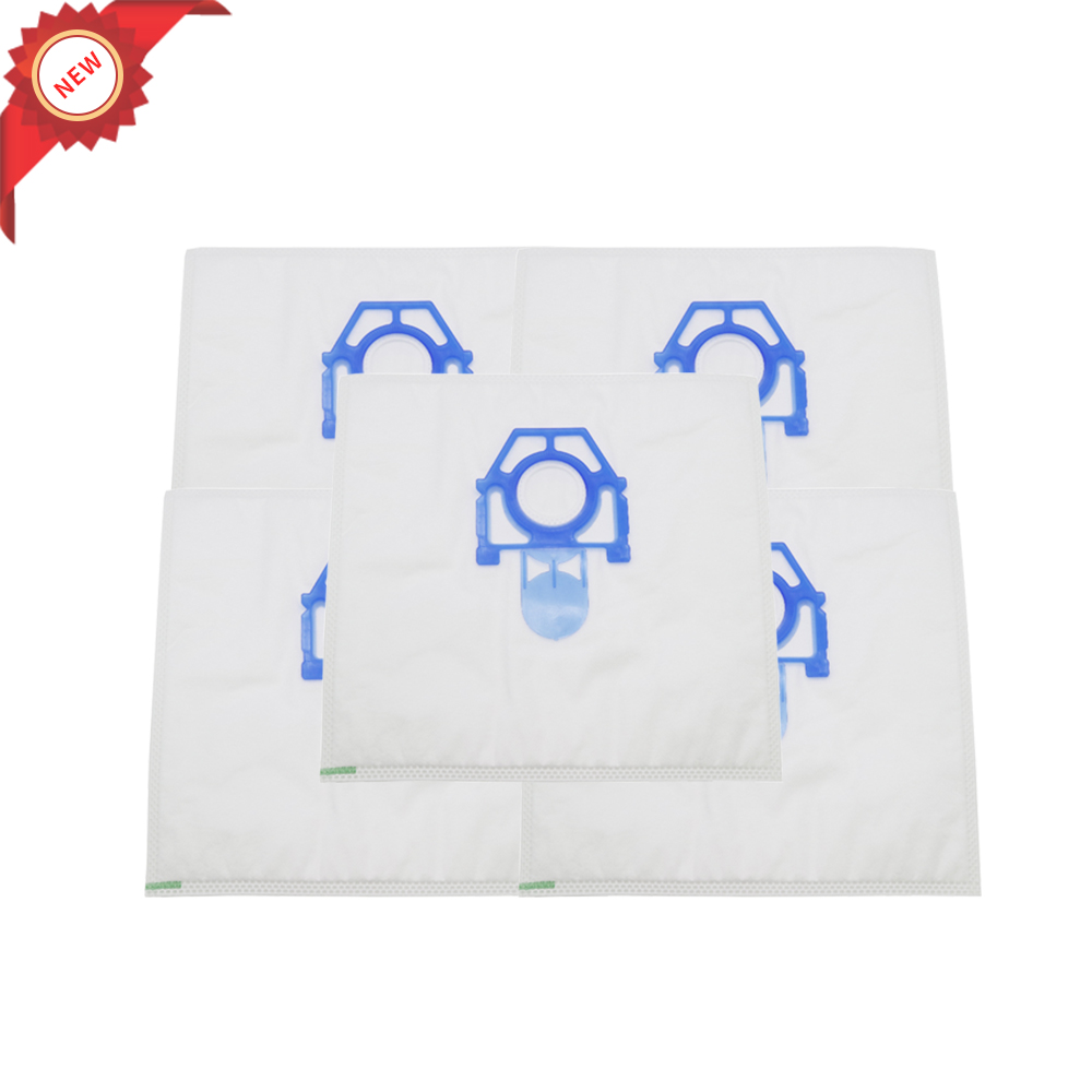 5pcs Dust Bags For Zelmer Vacuum Cleaner Bags Maxim 3000.0.K28S 919.0 SP Clarris 2700.0 ST 819.0 ST Meteor 2400.0 EQ Flip 321