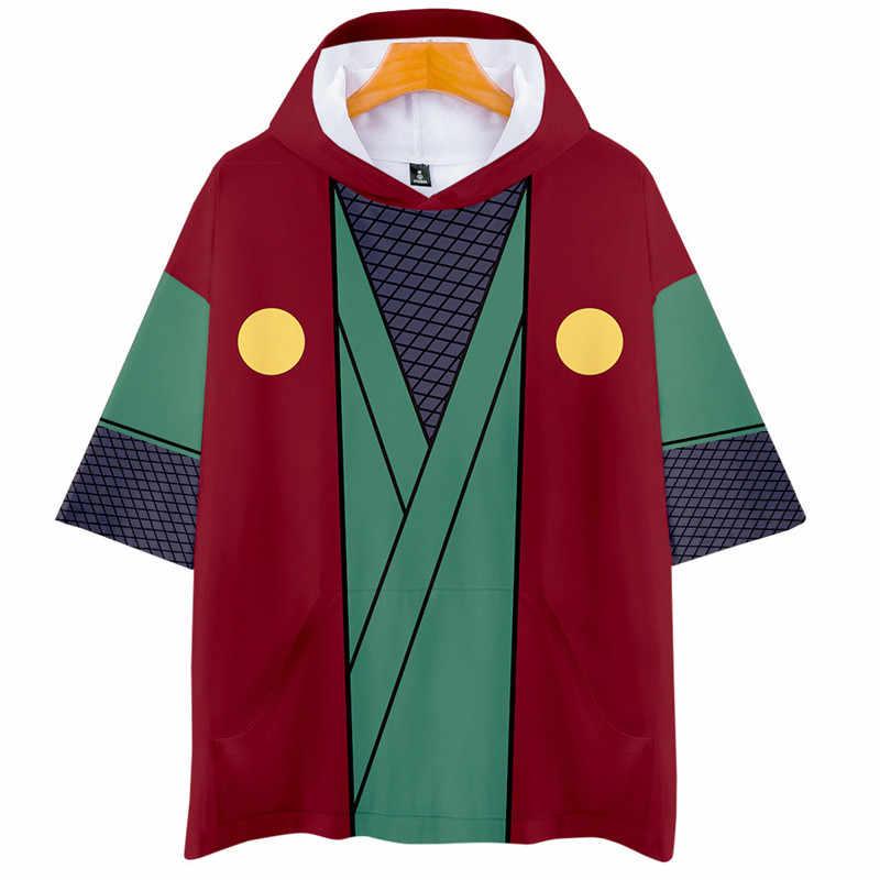 Fashion 3D Naruto Cartoon Cosplay Short Sleeve Hoodies T-Shirt Men Women Summer Uchiha Itachi Uzumaki Sasuke Kakashi T Shirt