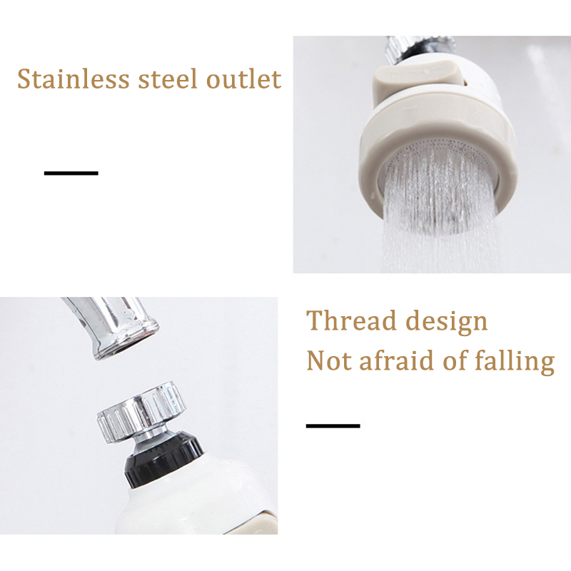 360° Rotate Kitchen Shower Faucet Tap Adjusting 3 Level Water Saving Bathroom Shower Faucet filtered Faucet Accessories VIP link 6