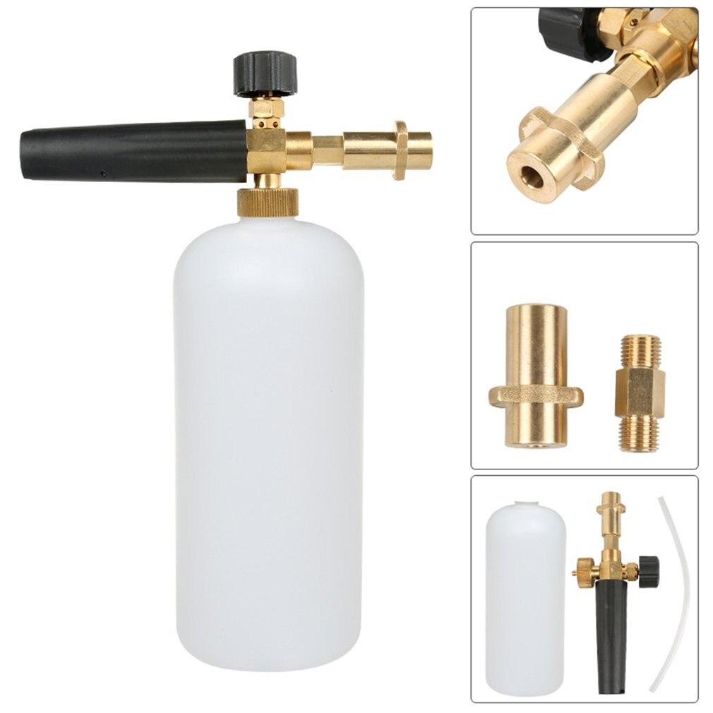 Professional Adjustable Brass Snow Foam Lance Foam Nozzle Foam Cannon High Pressure Washers|Car Washer| |  - title=