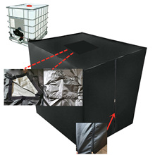 Dust Cover IBC Ton Drum Ton Bucket Rain Cover Ton Bucket Rain Cover 1000 Liters IBC Rainwater Tank Durable Ton Rainproof Cover