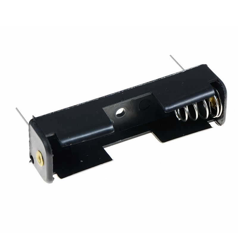 Top Deals AA/1.5V/PP3 Battery Holder/Connector Enclosed or Open with Switch, Battery Holder AA x 1 Holder PCB Amount:5 image