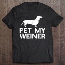 Funny tee tshirt t-shirt sasej chien Graffiti humour saucisse Animal teckel Pet