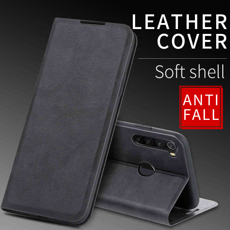 For Xiaomi Redmi Note 7 8 Pro 8T Case Leather Magnetic Flip Case For Xiaomi Redmi 6 6A 7 7A 8 8A K20 Pro Case Etui Wallet Cover