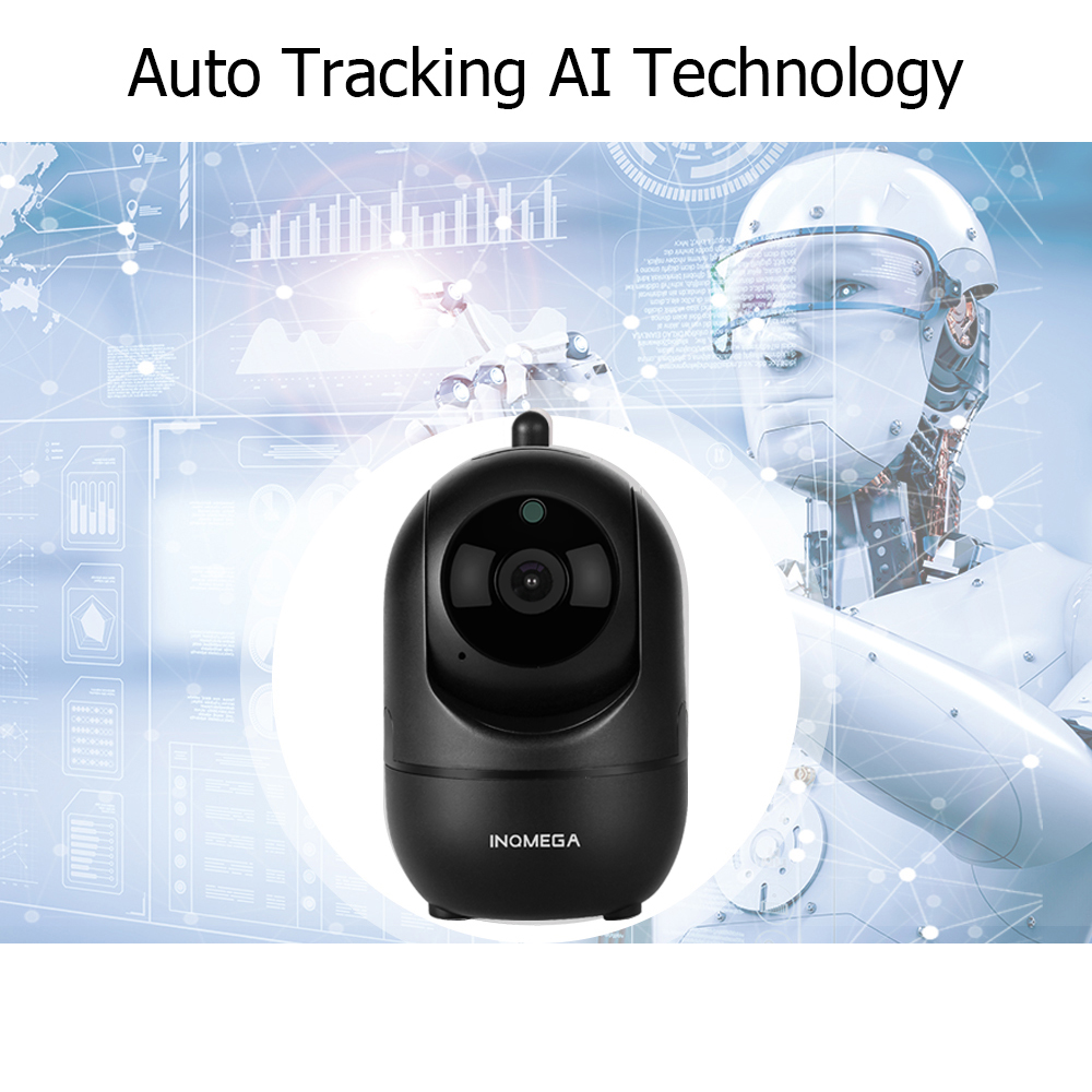 Image 3 - INQMEGA 1080P HD Cloud Wireless IP Camera Intelligent Auto Tracking of Human Home Security Surveillance CCTV Network Wifi CameraSurveillance Cameras   -