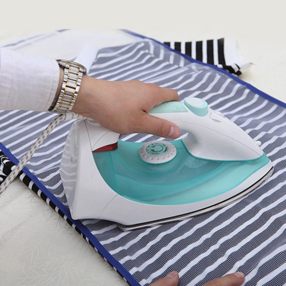 1X Protective Press Mesh Ironing Cloth Iron Delicate Garment Clothes Guard Pad H