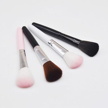 Profesjonalny pędzel do różu pędzel do makijażu do pudru wyróżnienia cieni do powiek pędzel mieszający pędzelki do paznokci niezbędne kosmetyki narzędzie do makijażu tanie i dobre opinie Włókna wełny ZSY124 14CM W proszku Rzeźbienia Szczotki Wyróżnienia Pędzlem Z tworzywa sztucznego pink brow gray