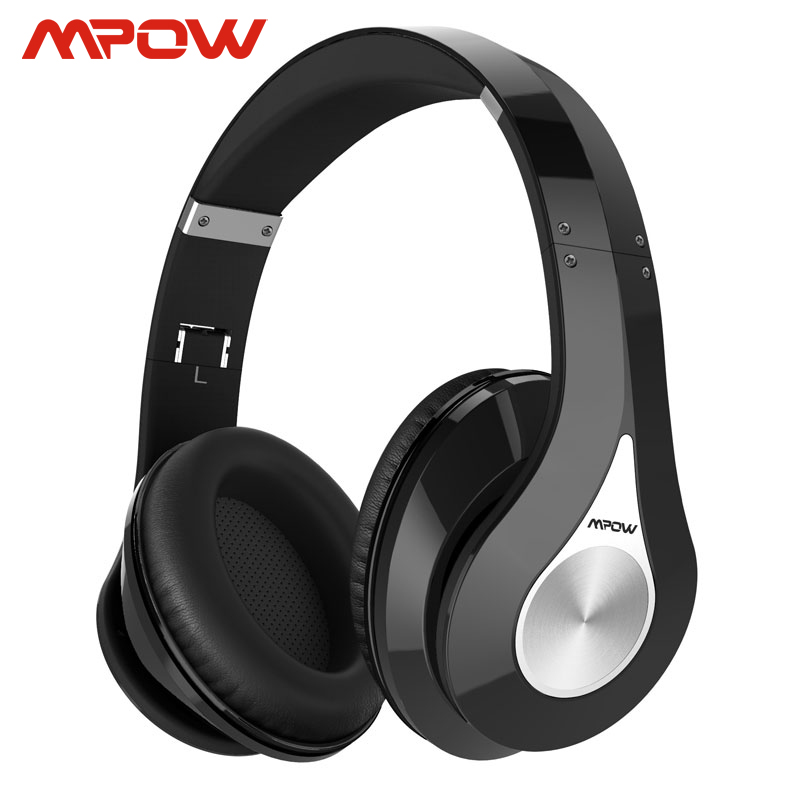 Mpow 059 <font><b>Bluetooth</b></font> 4,0 Stereo Kopfhörer Wireless <font><b>On</b></font>-<font><b>Ear</b></font> Noise Cancelling Headset HiFi Kopfhörer Mit Mic Für iPhone Huawei HTC image
