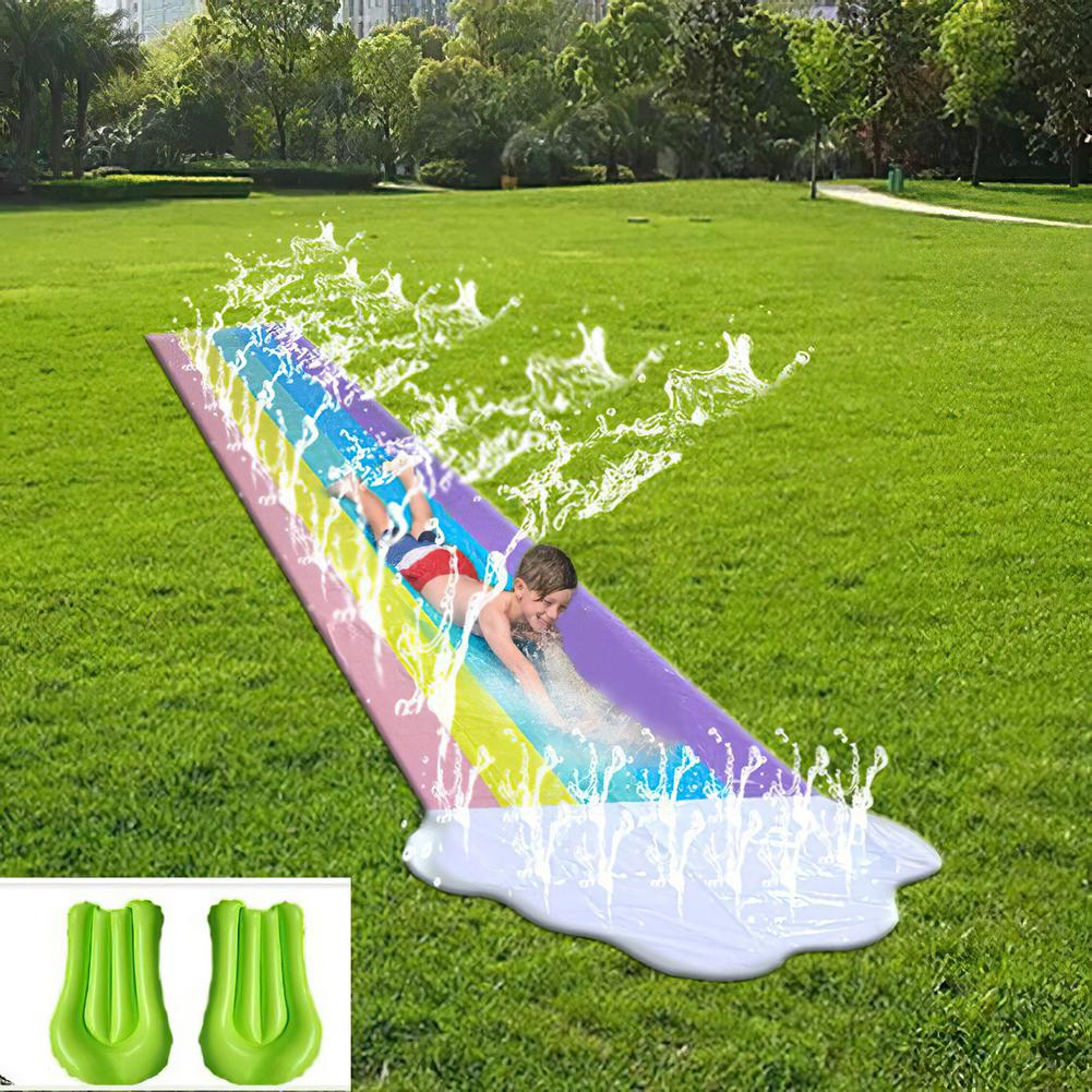 Giant Surf Water Slide Fun Lawn Color Water Slides Pools For Kids Summer PVC Games Center Backyard Outdoor Children Adult Toys