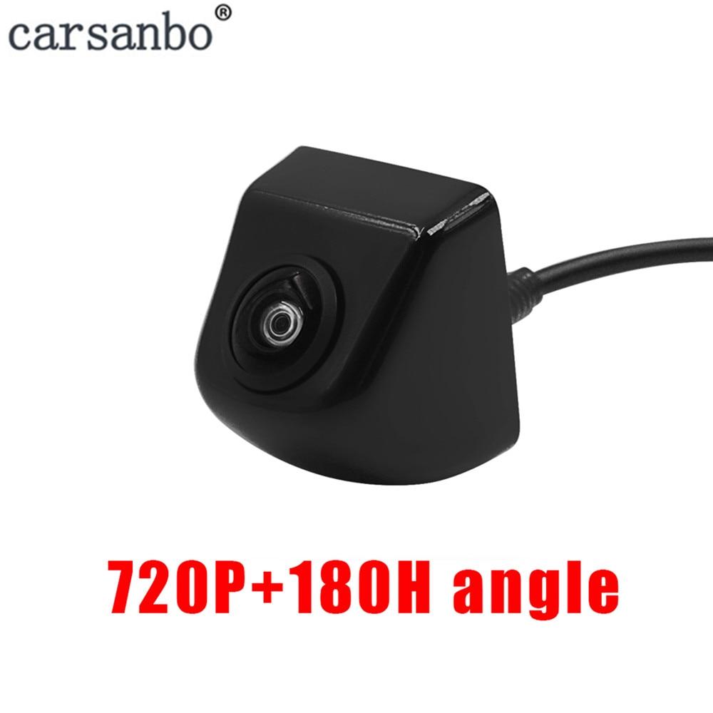 Quente 2 cores hd assistência de estacionamento câmera visão traseira do carro à prova dwaterproof água câmera frontview para monitor de estacionamento do carro