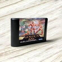 الذهبي الفأس اليورو تسمية عدة فلاش MD بطاقة الذهب ثنائي الفينيل متعدد الكلور ل Sega نشأة megadve لعبة فيديو وحدة التحكم