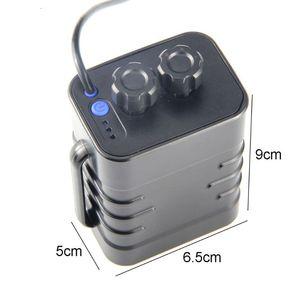 Image 3 - Imperméable à leau bricolage 6x18650 couvercle de boîtier de batterie avec 12V DC et USB alimentation pour vélo lumière LED routeur de téléphone portable