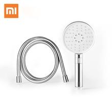 Orijinal Xiaomi Mijia Diiib 3 modu el duş seti 360 derece 120mm 53 su delik, PVC metal güçlü masajlı duş D5