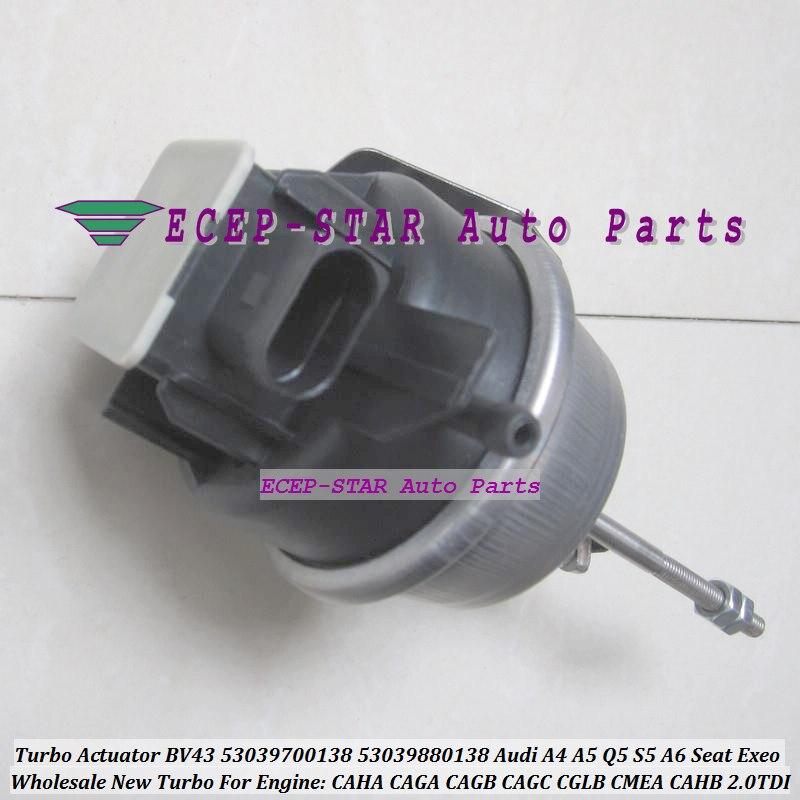 Turbo Actuator BV43 138 53039700138 53039880138 03L145702 03L145702E For Audi A4 A5 Q5 S5 A6 For Seat Exeo CAHA CAGA CAGB CAGC