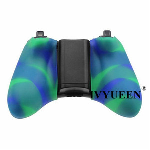 Image 5 - IVYUEEN Camo Protective Skin for Microsoft Xbox 360 Wired / Wireless Controller Silicone Case for X Box 360 Controle Cover