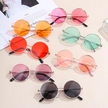 Sunglasses Retro Children's-Accessories Outing-Eyewear Kids Summer New-Fashion Round