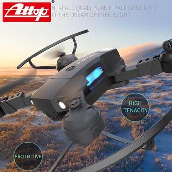 ATTOP X-PACK 10 Mini RC Drone 2,4G 4CH 6-Axis Gyro 3D-Flip modo sin cabeza una tecla de retorno Quadcopter RC helicóptero de jug 4