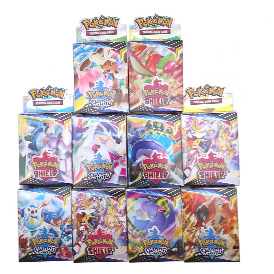 25PCS Cards Per Random Box New POKEMON Card English Version Pokemon Sm11 Ptcg Battle Collection Card Box Kids Toy Gift