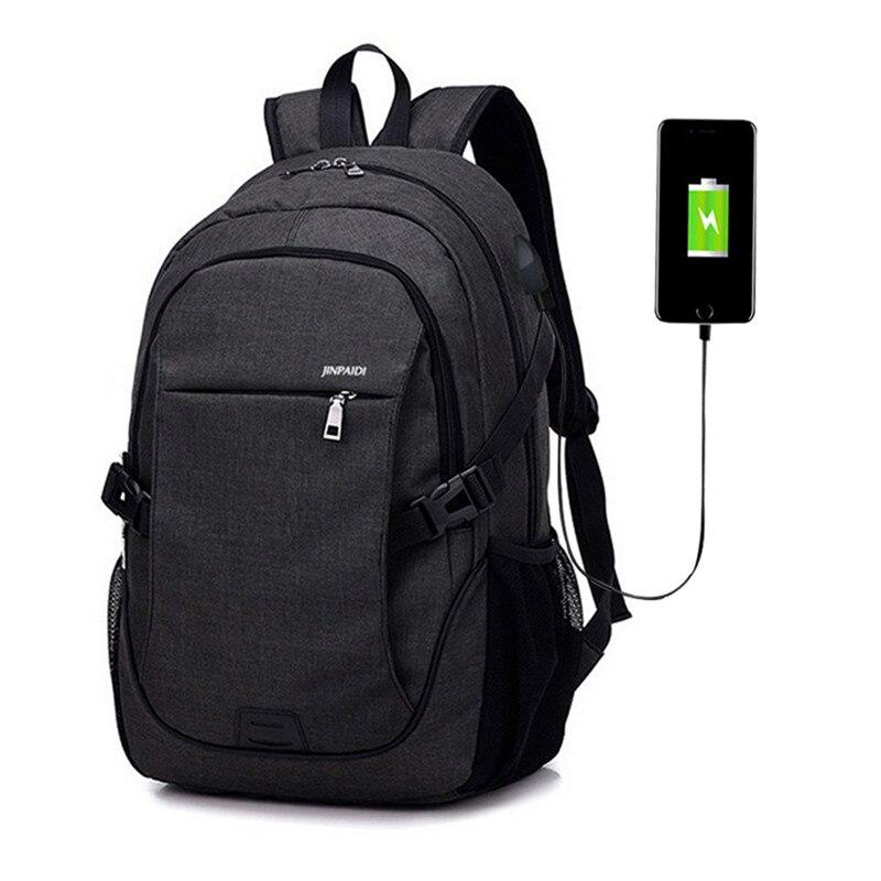 LOOZYKIT Men Backpack Laptop Bag Brand 15.6 Inch Notebook Mochila Male Waterproof Back Pack Backbag School Backpack