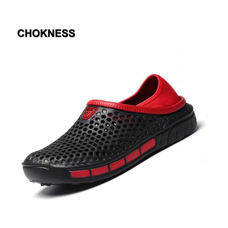 Summer Men Slippers 2019 Massage Clogs Outdoor Garden Shoes Male Pool Sandals Bathroom 37-45 Lightweight Mules Beach Slides