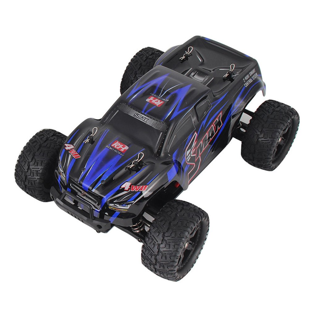 REMO 1631 1/16 Scale RC Car Toys 2.4G 40km/h High Speed 4WD Brushed Off-Road Bigfoot SMAX Remote Control Car Kids Toy Gift
