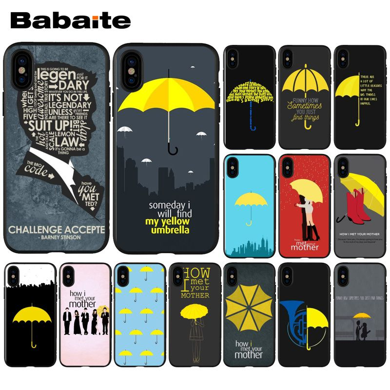 Babaite how i met your mother himym quotes TPU Phone Case Cover for Apple iPhone 11 8 7 6 6S Plus X 11 pro max 5 5S SE XR Cover