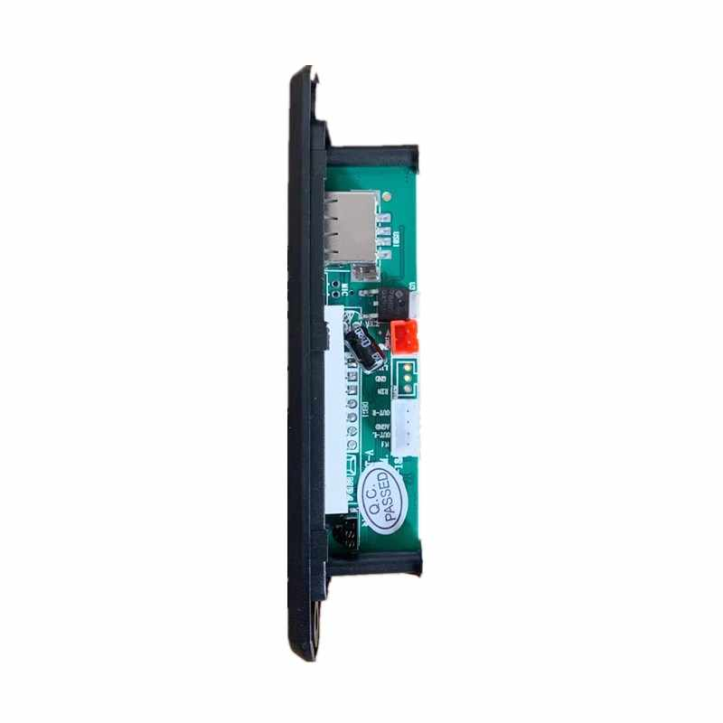 自動車車車ラジオ Bluetooth 5.0 カーキットのための MP3 プレーヤーデコーダボードカラー画面 FM ラジオ TF USB 3.5 ミリメートル AUX オーディオ