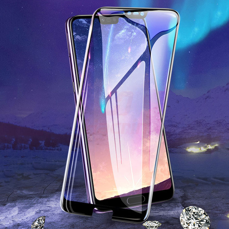 Glass For Huawei Honor 10 Tempered Glass Full Cover Ultra Thin Anti-Explosion Screen Protector Film Glass For Huawei Honor 10