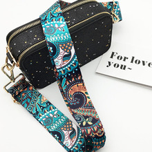 Bag-Strap Belt Replacement Crossbody-Bag-Accessories Flower Colorful Nylon For Bags Ike Marti