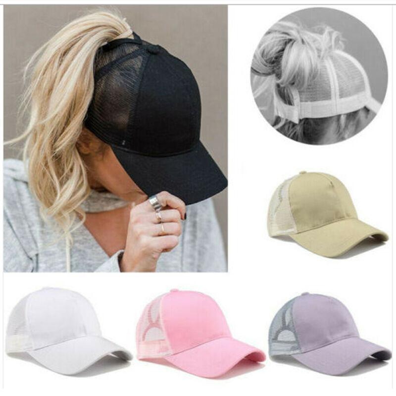 Baseball Cap Men Casquette Femme Men Cap Ponytail Baseball Cap Summer Hat Women Sun Sport Mesh Hat Snapback Hip Hop Hat
