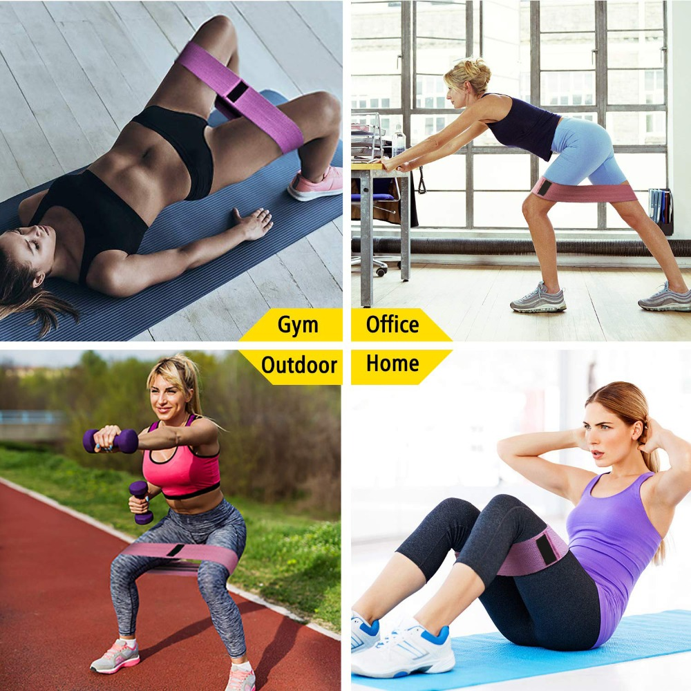 3 Piece Fitness Rubber Bands Resistance Bands Expander Rubber Bands For Fitness Elastic Band For Fitness Band Training Mini Band0014