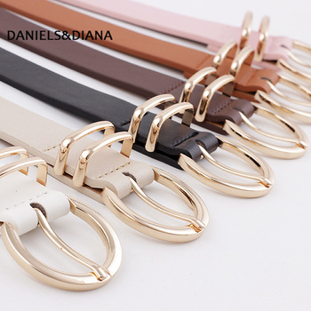 Weaving Belt Designer Genuine Leather Belts For Women Woven Thin Female Strap Ladies Braided Woman Fashion