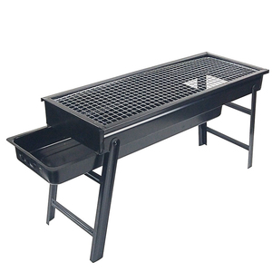Folding Outdoor Barbecue Grill
