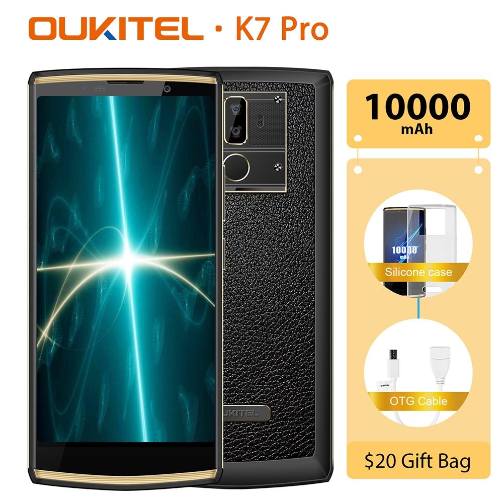 OUKITEL K7 Pro Smartphone Android 9.0 MT6763 Octa Core 4G RAM 64G ROM 6.0