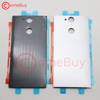 For SONY XPERIA XA2 Back Battery Cover Rear Battery Door Housing Case For SONY XA2 Back Cover Replacement H4133 H4131 H4132 original for sony xperia xz f8332 f8331 housing battery cover door rear cover chassis frame back cover case housing with logo