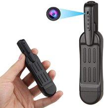مصغرة مسجّل وكاميرا فيديو مسجل المحمولة الأمن كاميرا على شكل قلم HD 1080P مايكرو كاميرات الجيب الجسم الحدب اجتماعات صغيرة سجل