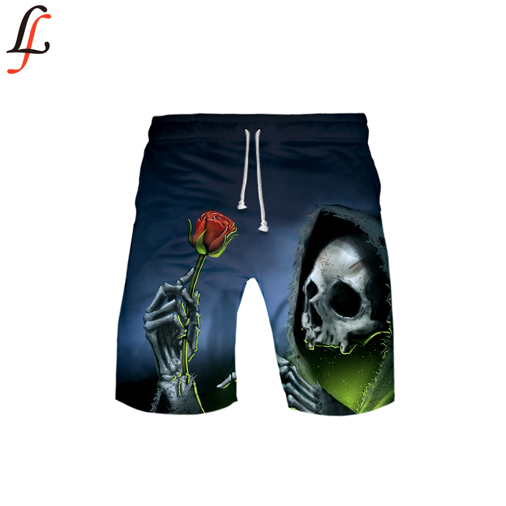 Halloween Horror 3D Pocket Quick Dry Swimming Shorts For Men Swimwear Man Swimsuit Swim Trunks Summer Bathing Beach Wear Surf
