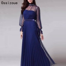 Plus Size Navy Blue Formal Mother Of The Bride Dres